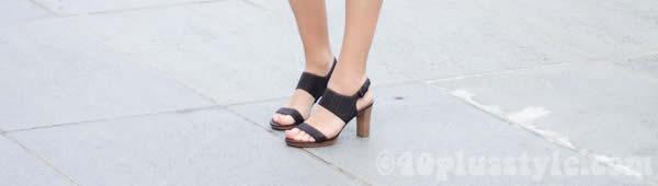 Ecco black shoes
