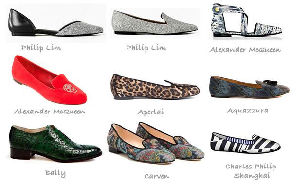 Flat shoe trends fall 2012