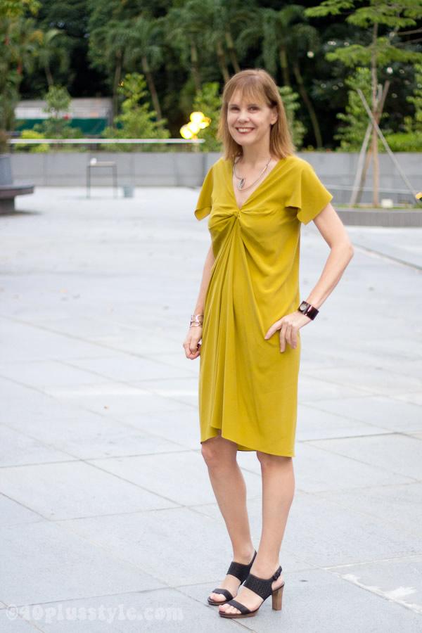 yellow dress from alldressedup