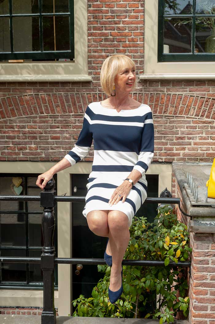 How to have fun with fashion! Style lessons from Greetje | 40plusstyle.com