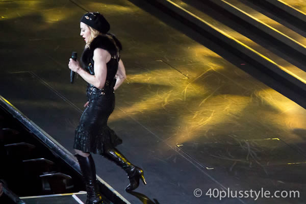 Madonna performing in Amsterdam