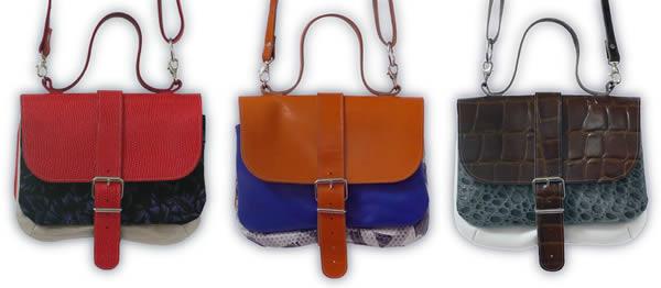 3 pockets handbag