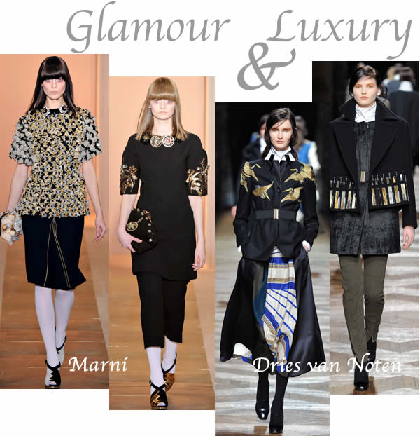 glamour and luxury