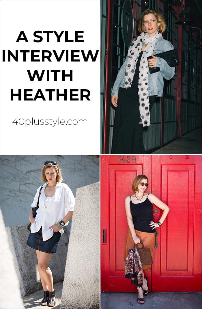 A style interview with Heather | 40plusstyle.com