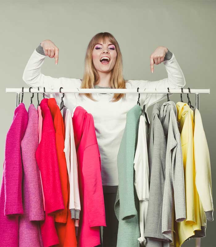 How to store your clothes and accessories