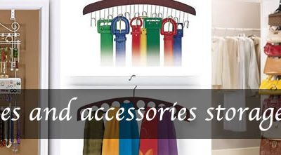 how to store accessories