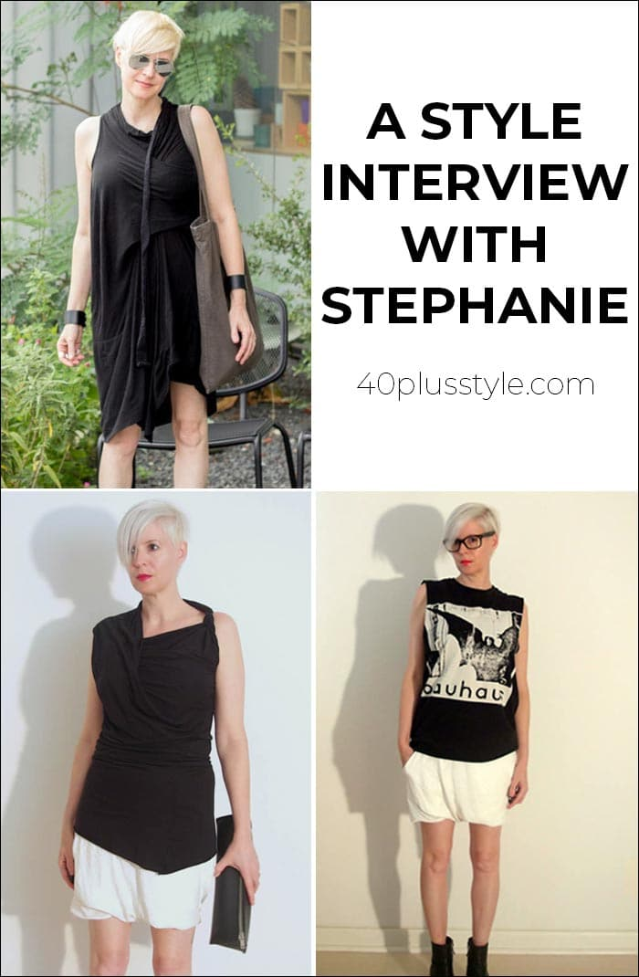 A style interview with Stephanie | 40plusstyle.com