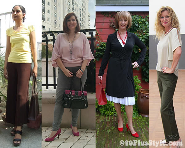 stylish 40+ women