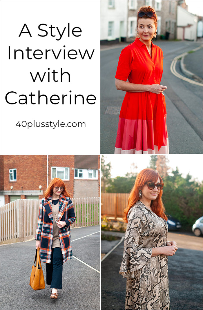 A style interview with Catherine | 40plusstyle.com