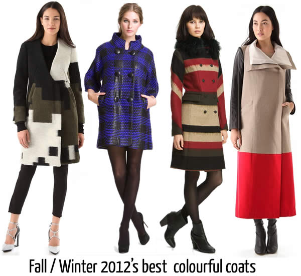 Best fall winter 2012 coats