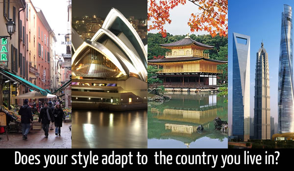 Does Your Style Adapt To The Country You Live In