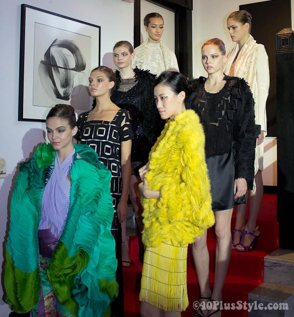 Mautirzio Galante fashion show