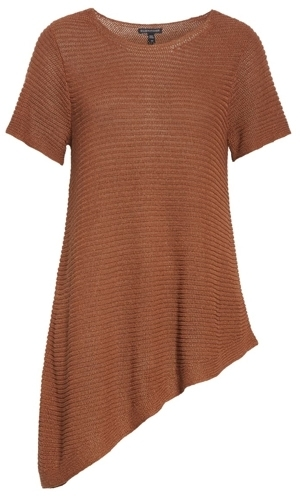 eileen fisher tunic top | 40plusstyle.com