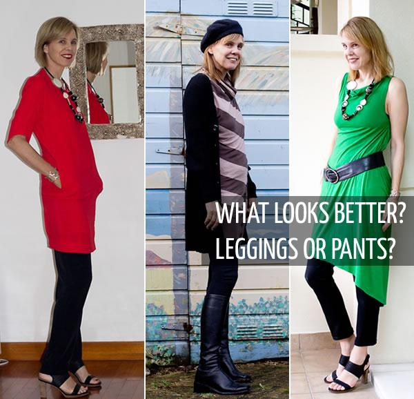 Leggings or skinny pants