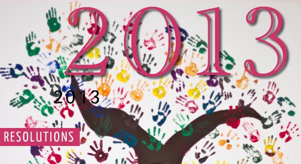 2013 resolutions