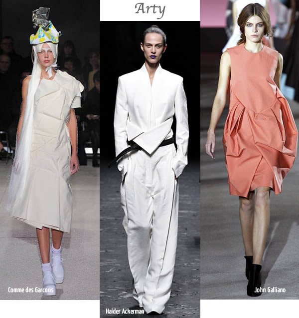 arty statement fashion spring 2013