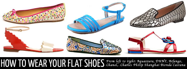 fcc894330c37 How to wear shoes  flats