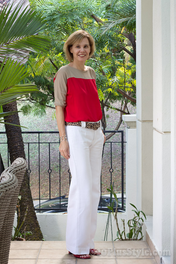 how to wear red - lots of ideas and inspiration | 40plusstyle.com