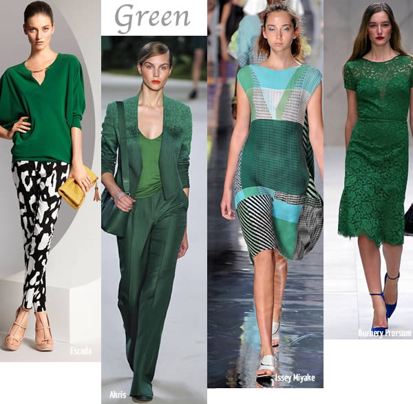 Spring trends 2013 Green