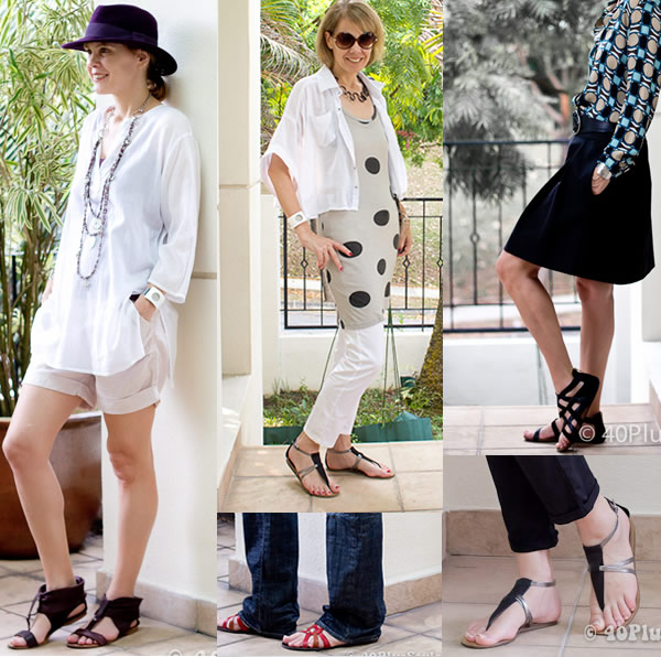 How To Wear Sandals
