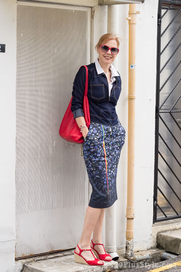 What is the perfect skirt length and skirt type for women over 40?   40plusstyle.com