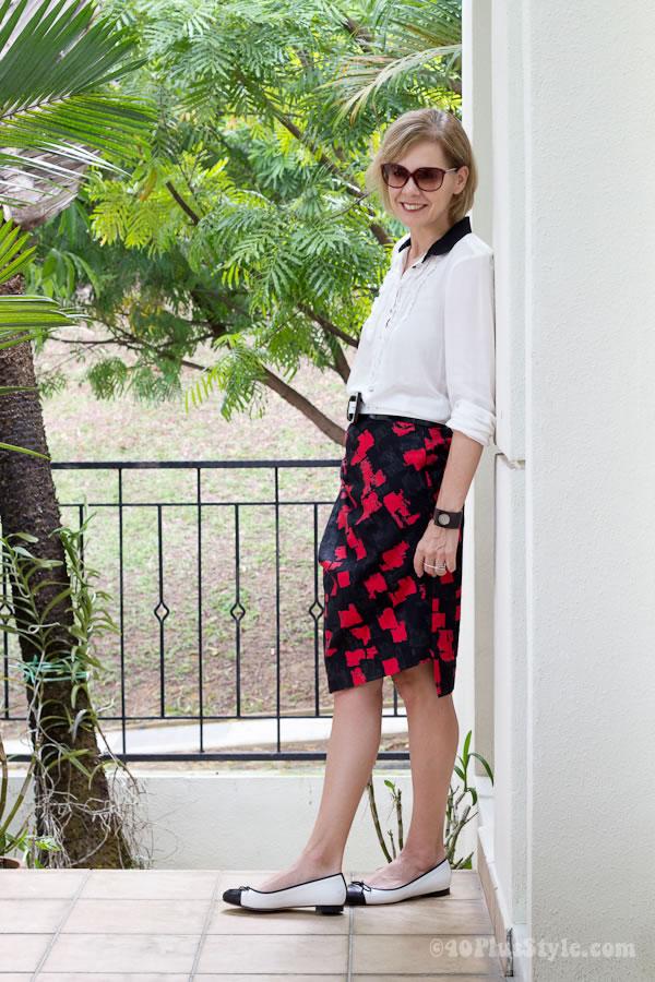 printedskirt