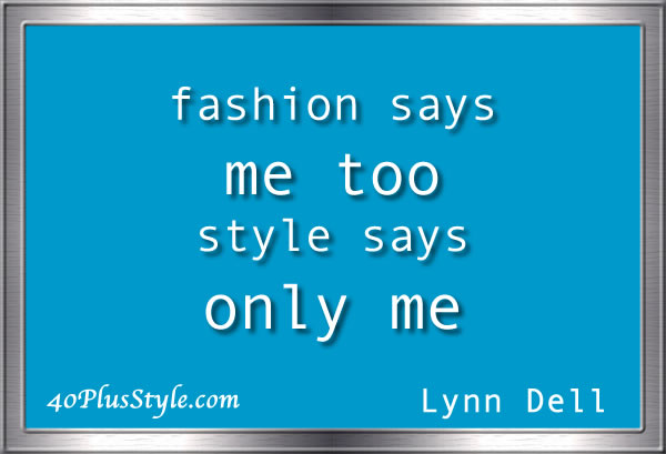 style quote lynn dell