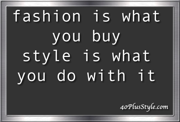 style and fashion quote