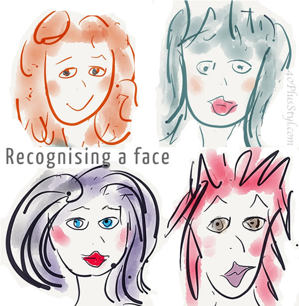 Do you recognise a face