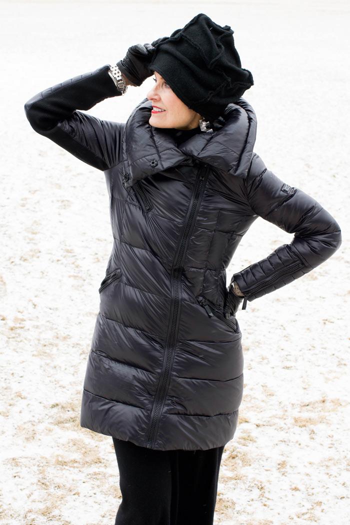 Judith in winter | 40plusstyle.com