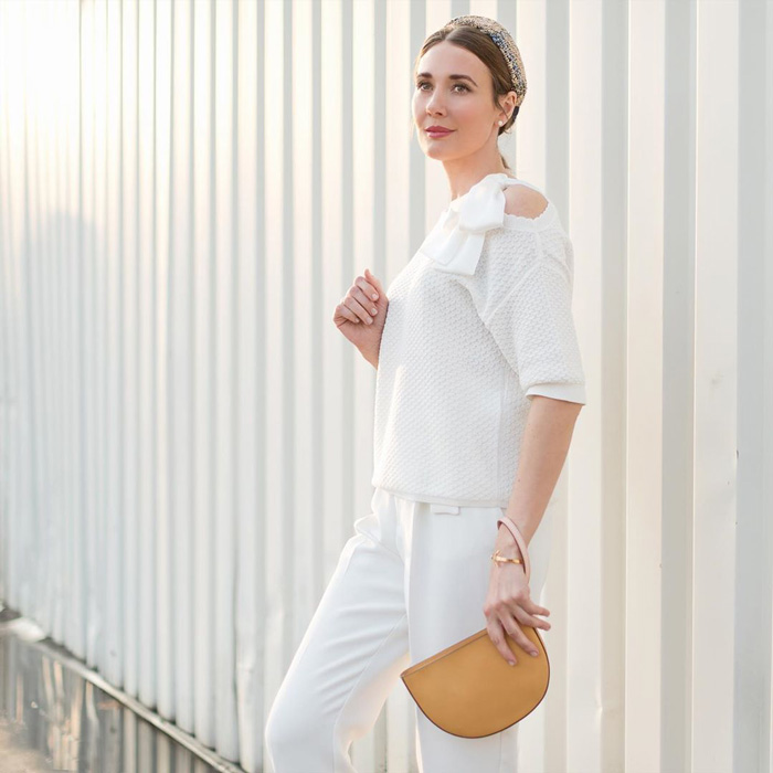 all white summer outfit idea   40plusstyle.com