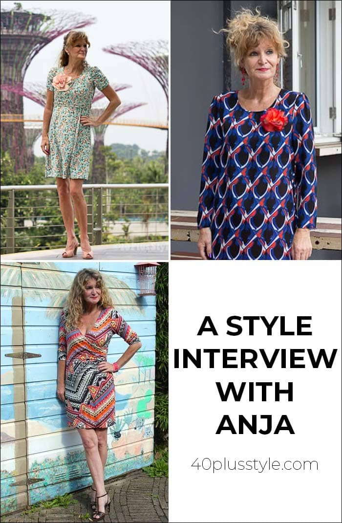 A style interview with Anja | 40plusstyle.com