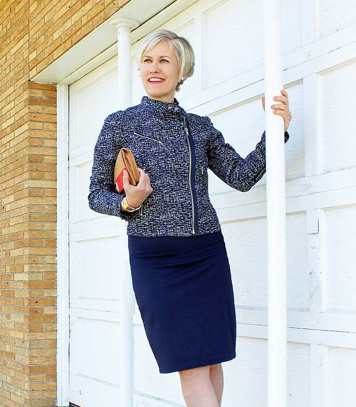 How to look both elegant and colorfully arty after 40: Style lessons from Ann