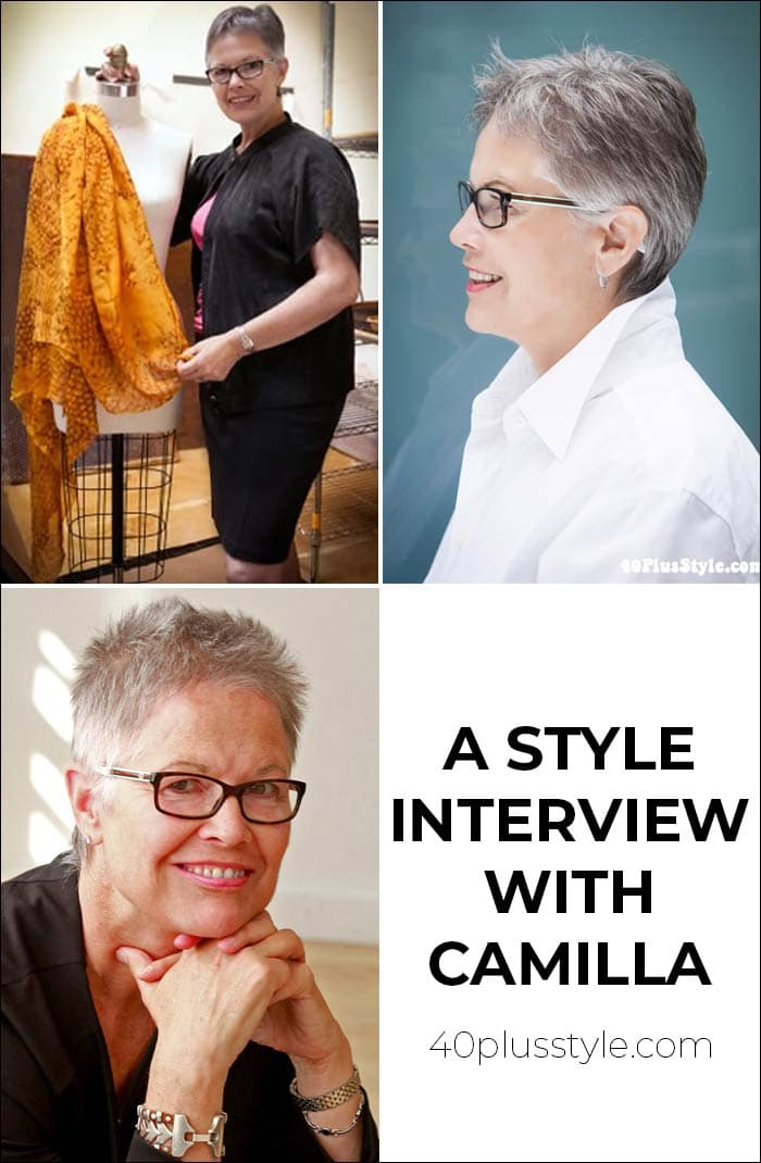 A style interview with Camilla | 40plusstyle.com