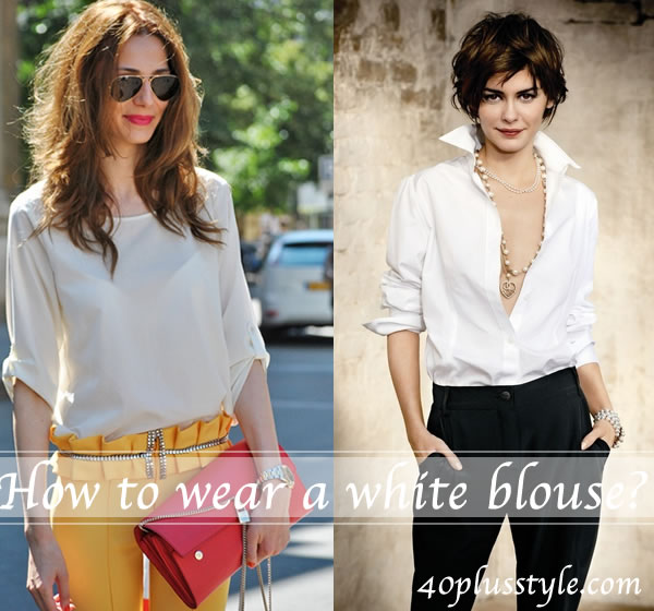 How to wear a white shirt – wearing the essentials