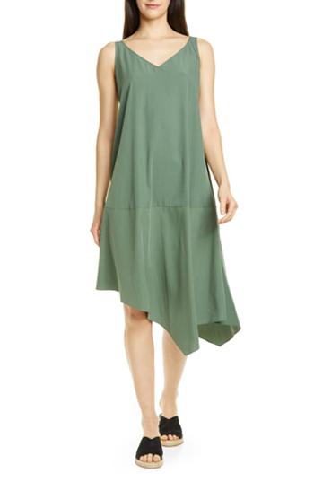 asymmetrical shift dress   40plusstyle.com