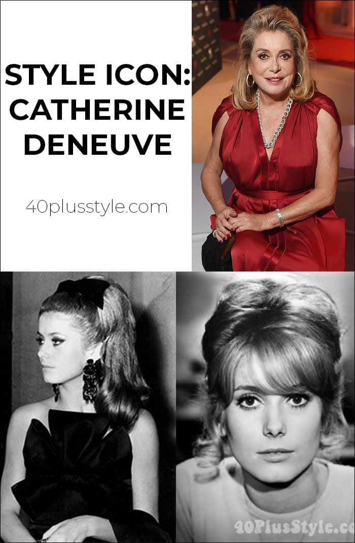 60s style icon Catherine Deneuve continues to inspire | 40lusstyle.com