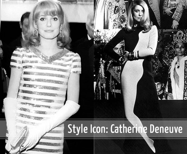 60s Style Icon Catherine Deneuve Continues To Inspire