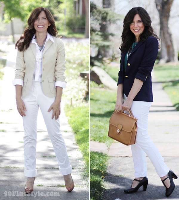 50 ways to wear white
