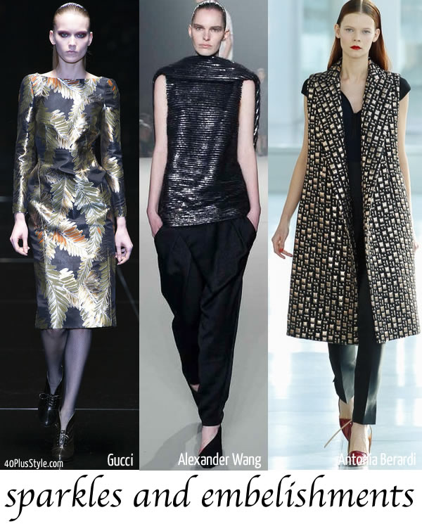 best 2013 fall trends sparkles
