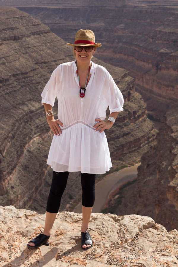 white dress over black leggings