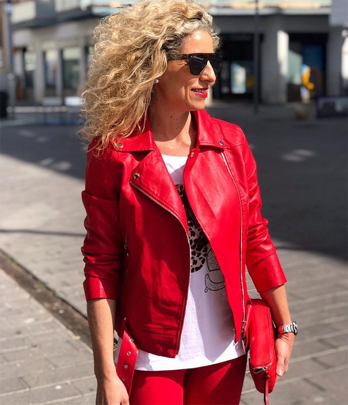 How to wear leather over 40  | fashion over 40 | style | fashion | 40plusstyle.com