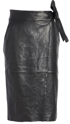 Wrap Leather Skirt | fashion over 40 | style | fashion | 40plusstyle.com