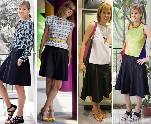 With what to wear a skirt