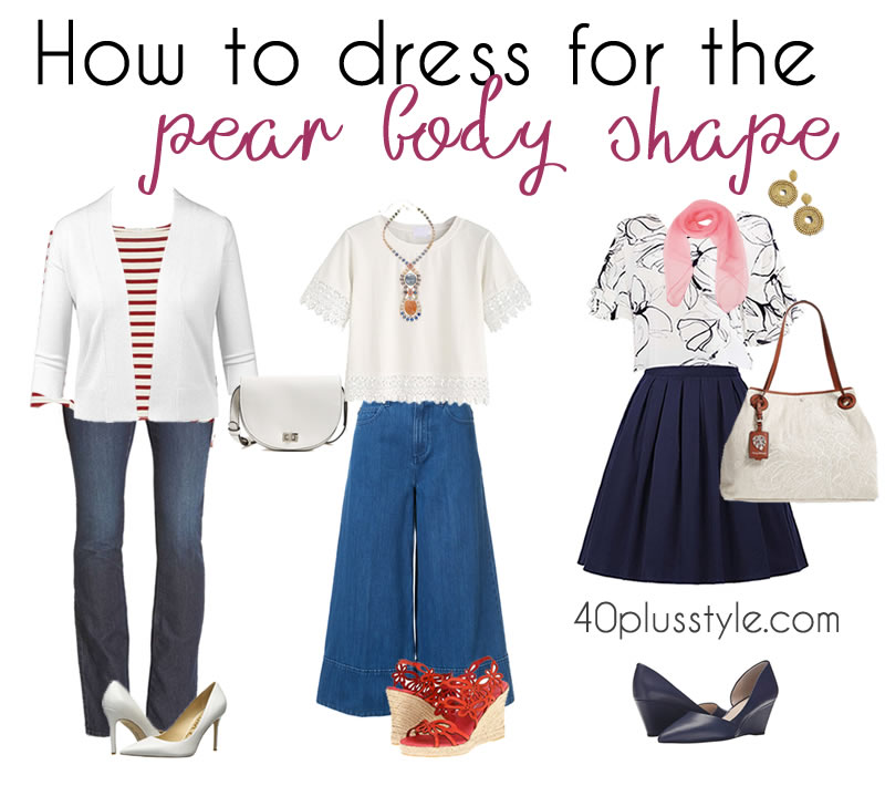 Fashion Style For Pear Shaped Body