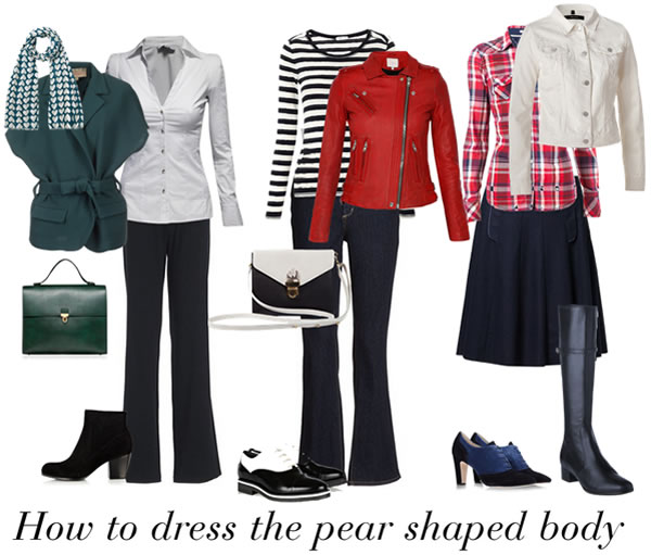 outfits for pear shaped women | 40plusstyle.com