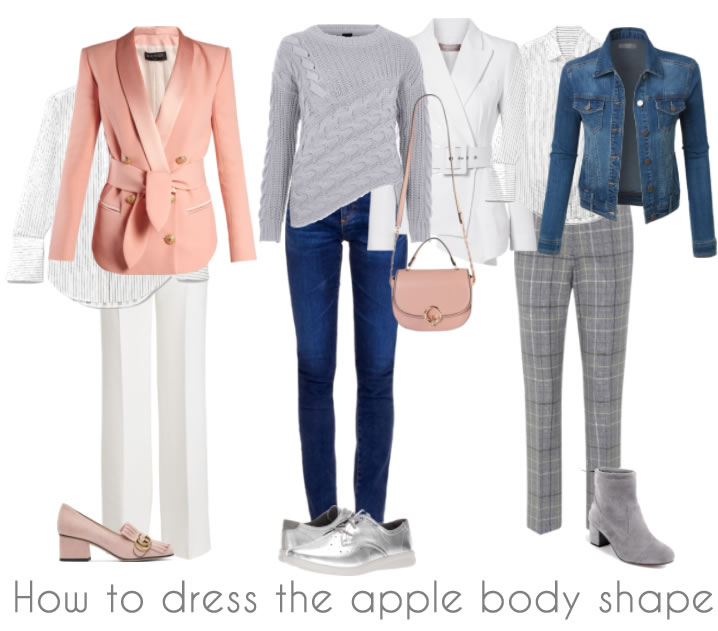 Jackets and sweaters for the apple body shape | 40plusstyle.com