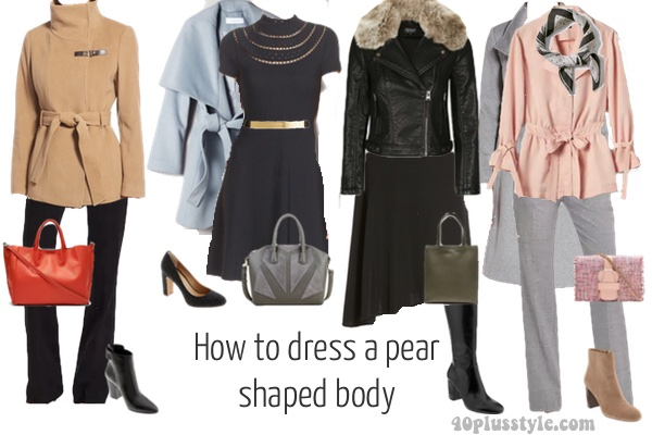 How To Dress The Pear Shaped Body Type 40plusstyle