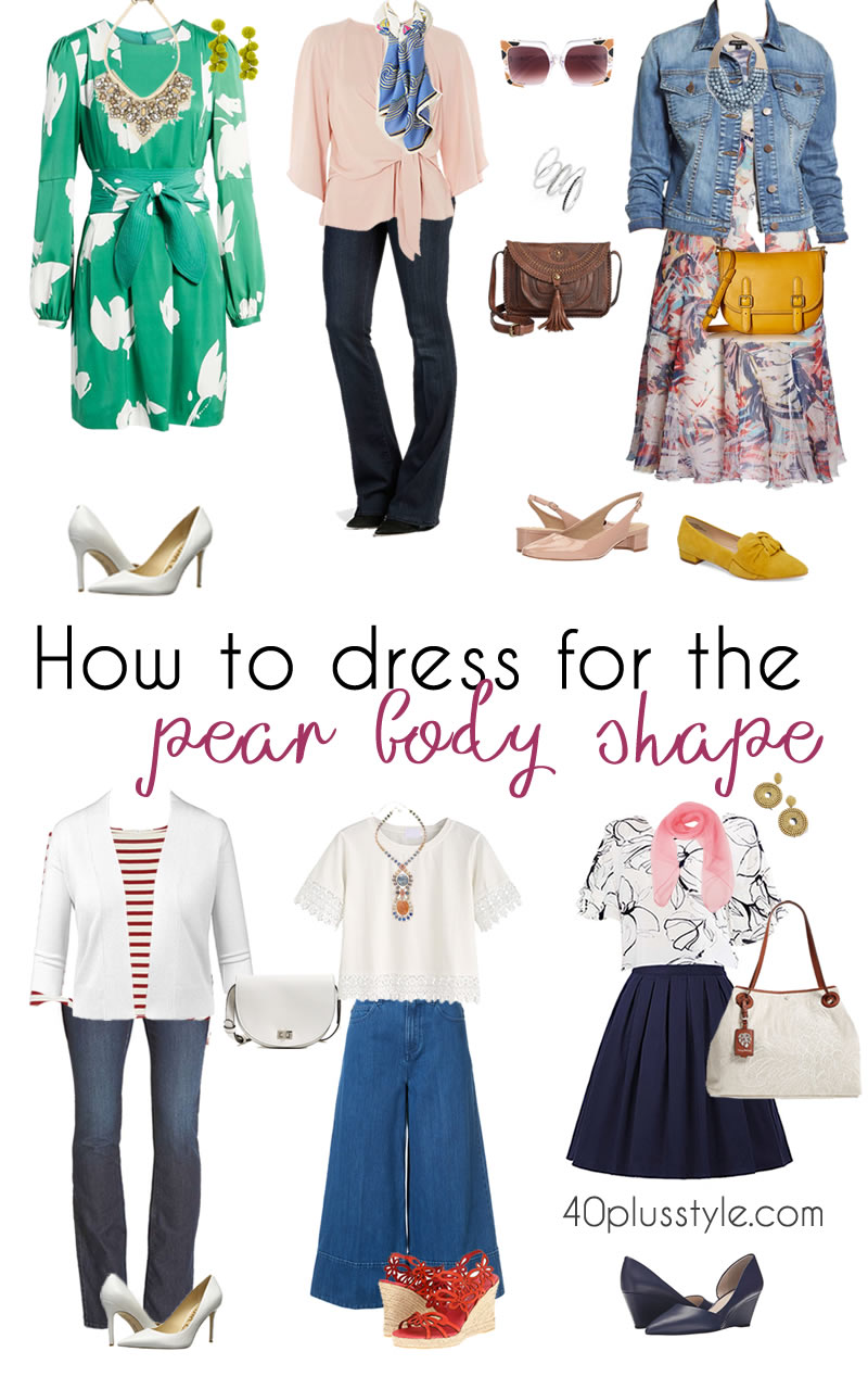 Pear Shaped Body Outfit Ideas 40plusstyle