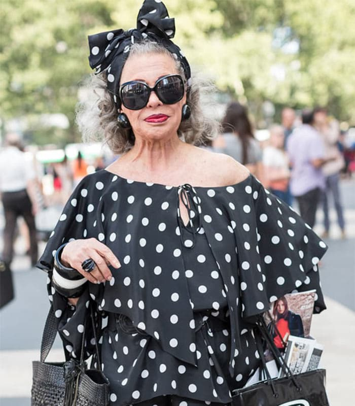 Streetstyle at New York Fashion week as worn by 40+ women | 40plusstyle.com